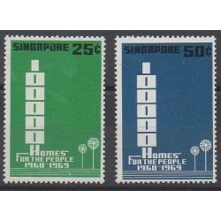 Singapore - 1969 - Nb 95/96