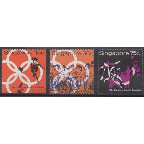 Singapour - 1970 - No 112/114
