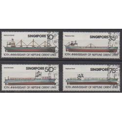 Singapour - 1978 - No 306/309 - Navigation - Oblitérés