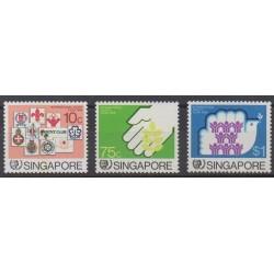 Singapour - 1985 - No 479/481