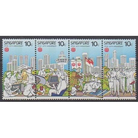 Singapour - 1986 - No 486/489