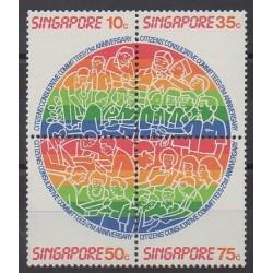 Singapour - 1986 - No 501/504