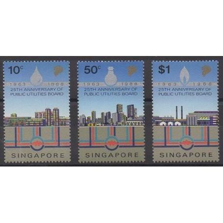 Singapour - 1988 - No 536/538