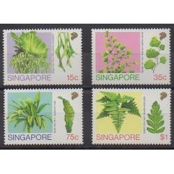 Singapour - 1990 - No 594/597 - Flore