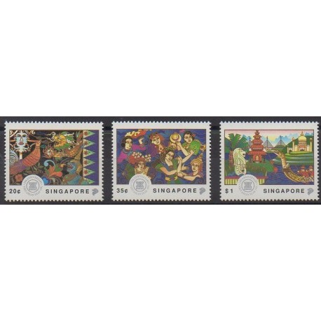 Singapour - 1992 - No 644/646