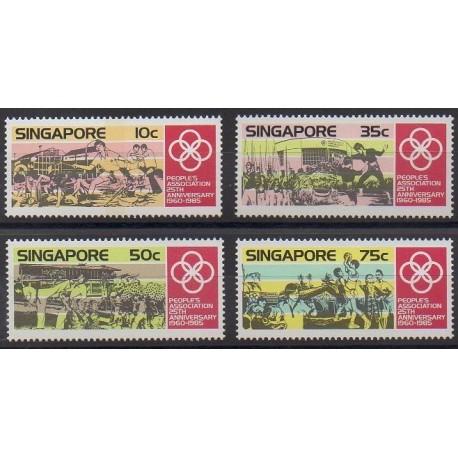 Singapour - 1985 - No 467/470