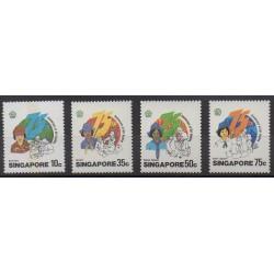 Singapour - 1985 - No 475/478 - Scoutisme