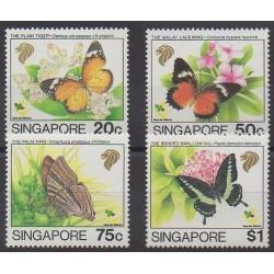 Singapour - 1993 - No 676/679 - Insectes