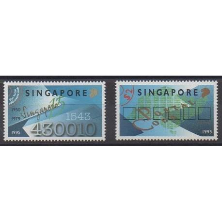 Singapour - 1995 - No 761/762