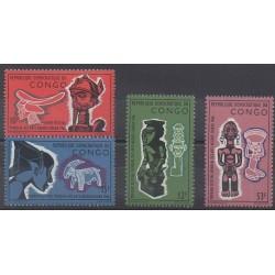 Congo (République démocratique du) - 1966 - No 613/616 - Art