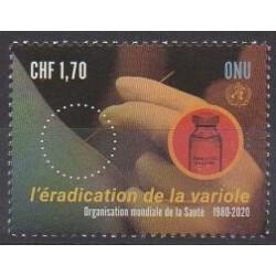Nations Unies (ONU - Genève) - 2020 - No 1087 - Santé ou Croix-Rouge