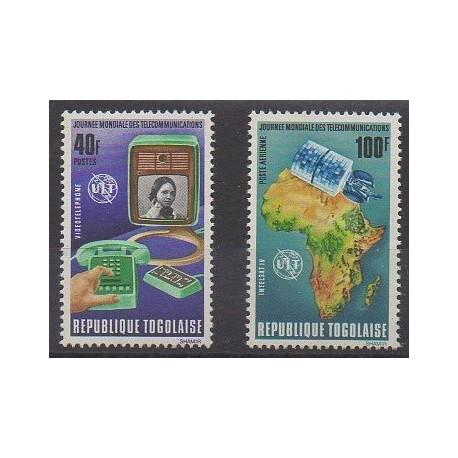 Togo - 1972 - No 746 - PA180 - Télécommunications