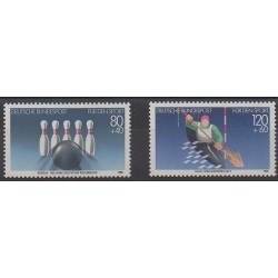 West Germany (FRG) - 1985 - Nb 1070/1071 - Various sports