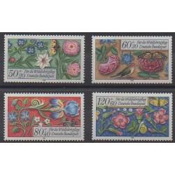 West Germany (FRG) - 1985 - Nb 1091/1094 - Art