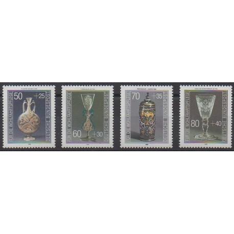 Allemagne occidentale (RFA) - 1986 - No 1129/1132 - Art