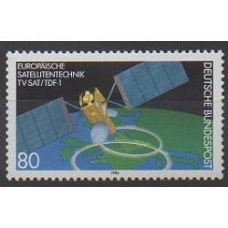 Allemagne occidentale (RFA) - 1986 - No 1122 - Télécommunications