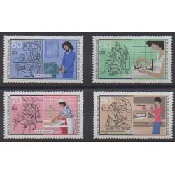 West Germany (FRG) - 1987 - Nb 1147/1150 - Craft