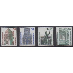 West Germany (FRG) - 1987 - Nb 1166/1169 - Monuments