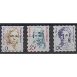 West Germany (FRG) - 1988 - Nb 1191/1193 - Celebrities