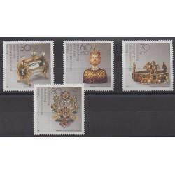 Allemagne occidentale (RFA) - 1988 - No 1215/1218 - Art