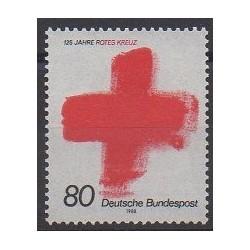 Allemagne occidentale (RFA) - 1988 - No 1219 - Santé ou Croix-Rouge
