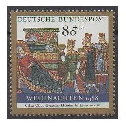 Allemagne occidentale (RFA) - 1988 - No 1228 - Noël