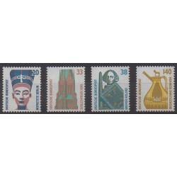 Allemagne occidentale (RFA) - 1989 - No 1230/1233 - Art