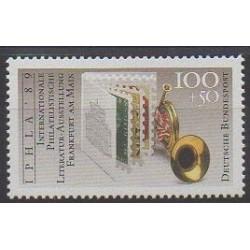 Allemagne occidentale (RFA) - 1989 - No 1247 - Littérature - Philatélie