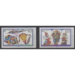Allemagne occidentale (RFA) - 1989 - No 1249/1250 - Enfance - Europa