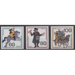 Allemagne occidentale (RFA) - 1989 - No 1269/1271 - Service postal