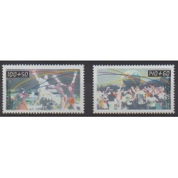 Allemagne occidentale (RFA) - 1990 - No 1281/1282 - Sports divers