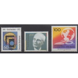 Germany - 1991 - Nb 1325/1327