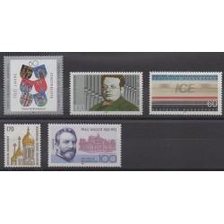 Germany - 1991 - Nb 1360/1364