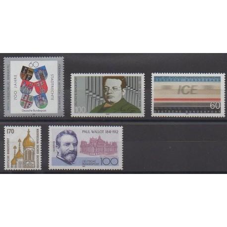 Allemagne - 1991 - No 1360/1364