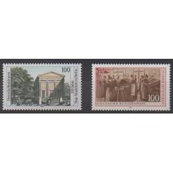 Allemagne - 1991 - No 1352/1353