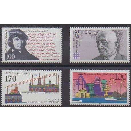 Allemagne - 1991 - No 1387/1390