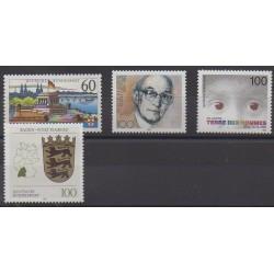 Germany - 1992 - Nb 1415/1418