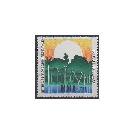 Allemagne - 1992 - No 1443 - Environnement