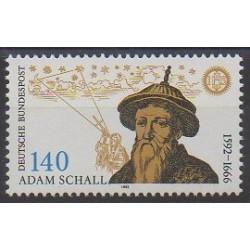 Allemagne - 1992 - No 1435 - Astronomie