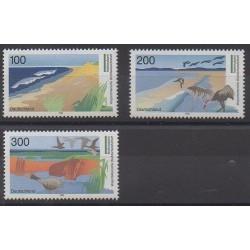 Allemagne - 1996 - No 1703/1705 - Parcs et jardins