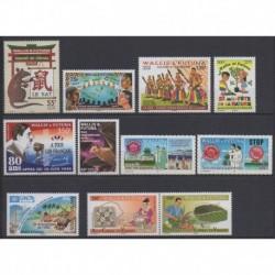 Wallis and futuna - Complete year - 2020 - Nb 924/934