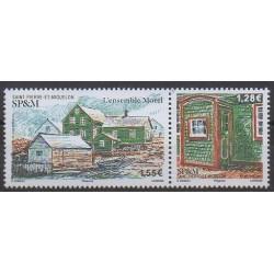 Saint-Pierre and Miquelon - 2021 - L'ensemble Morel - Architecture