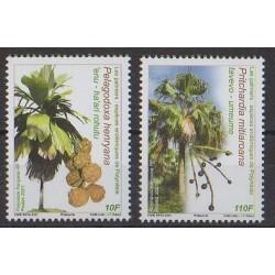 Polynésie - 2021 - No 1262/1263 - Arbres - Fruits ou légumes