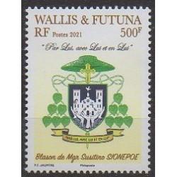 Wallis et Futuna - 2021 - Mgr SIONEPOE - Armoiries