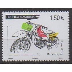 French Andorra - 2021 - Bailen guai - Motorcycles