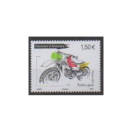 Andorre - 2021 - No 858 - Motos