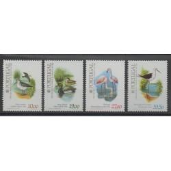 Portugal - 1982- No 1548/1551 - Oiseaux