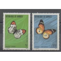 Djibouti - 1980- Nb 517/518 - Butterflies