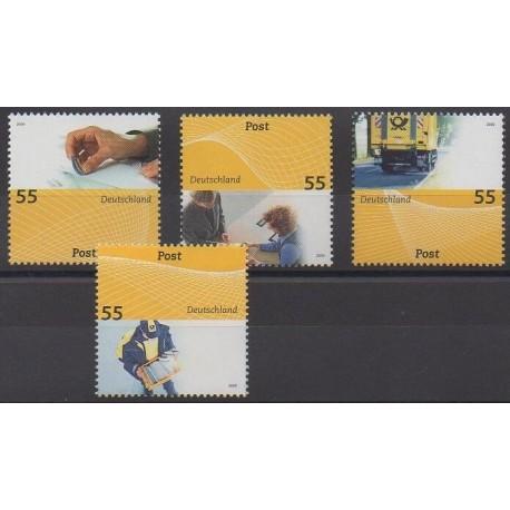 Allemagne - 2009 - No 2548/2549 - 2560/2561 - Service postal