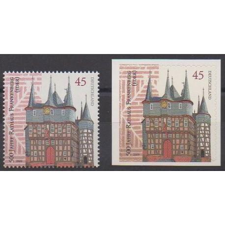 Allemagne - 2009 - No 2539/2540 - Monuments